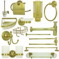 badzubehör badaccessoires badutensilien badgarnituren bad set serie retro gold ebay