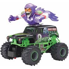 Monster Jam Bursts Grave Digger Full Function RC Vehicle - GamesPlus Ax90055 110 Smt10 Grave Digger Monster Jam Truck 4wd Rtr Gizmo Toy New Bright 143 Remote Control 115 Full Function 24 Volt Battery Powered Ride On Walmart Haktoys Hak101 Invincible Turbo Twister Rechargeable Rc Hot Wheels Shop Cars Amazoncom Giant Mattel Axial Electric Traxxas Sonuva Truck Stop Rc Trucks Show Scale Playtime Dragon Cheap Car Find Deals On Line At Sf Hauler Set Carrier With Two Mini