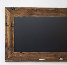 Mother U0027s Day Chalkboard Reclaimed Wood Framed With Ledge