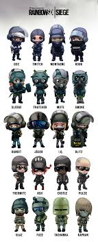 http siege chibi operator poster rainbow six siege your meme