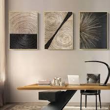 diy paradies abstrakte retro nordischen stil wand kunst leinwand poster malerei wohnzimmer bild