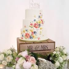 Personalised Rustic Wooden Wedding Cake Stand Previous Next
