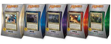 Premade Commander Decks 2015 by Your Wish Is My Commander Magic The Gathering