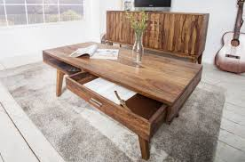 casa padrino solid wood coffee table 100 x 55 x h 40 cm living room table in retro style living room furniture in retro design