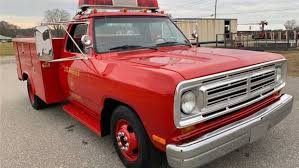 100 Red Fire Trucks Replica Emergency Dodge Truck Is A Hot Auction Lot