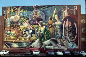 the work sponsored by the philadelphia mural arts program and