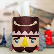 Handwork Diy Crafts Nut Cracker Tissue Box Give Friend Ideas Gift