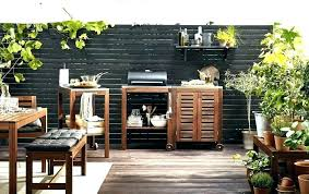 Ikea Decking Outdoor Flooring Balcony Ideas A Patio With An Kitchen Consisting Floor
