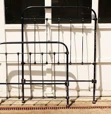 Wesley Allen Twin Headboards by Vintage Metal Twin Headboard And Footboard Ebth