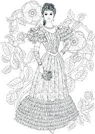 Victorian Era Coloring Pages England Colouring Aubreyowin