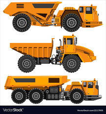 100 Articulated Truck Powerful Articulated Dump Truck Royalty Free Vector Image