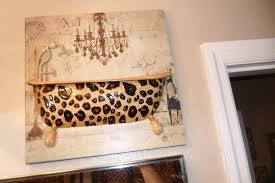 leopard bathroom decor design ideas decors