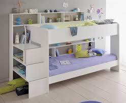 kids avenue bibop 2 white bunk bed by parisot