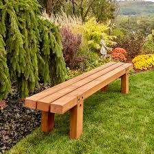 How To Make Simple Timber Bench The Family Handyman
