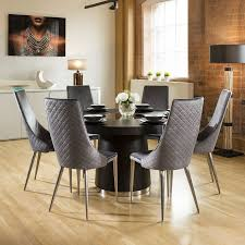 Quatropi Large 1.4 Round Black Oak Dining Set 6 High Grey Dining Chair 10 Upholstered Ding Chairs Cabriole Legs Lloyd Flanders Round Back Wicker Chair Arenzville Mahogany Wood Pedestal Table With 6 Set Pre Order Aria Concrete Granite Ding Table 150cm 4 Jsen Leather Chair Package Small In White Velvet Pink Rhode Island Kaylee Bedford X Rustic 72 With 8 Miles Round Ding Suite Alice Chairs A334b 1pc And A304 4pcs Patrick Milner Modern Dinette 5 Pieces Wooden Support Fniture New Tyra Glass On Gloss Latte Nova Seater