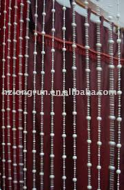 Doorway Beaded Curtains Wood by Bamboo Beaded Door Curtains Kmart Hanging Beads Bath Beyond