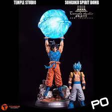 100 Studio Son Temple Goku Spirit Bomb Toys Games Bricks
