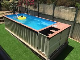 Elegant Pallet Pool Deck
