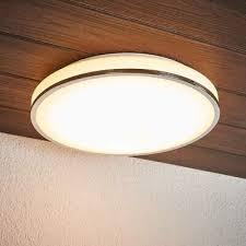 huis led deckenleuchte rund badezimmer leuchte ip44 badle