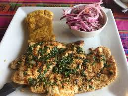 El Patio Restaurant Fort Myers Florida by Grilled Chicken W Plantains U0026 Onion Salad Steak Place With Sooo
