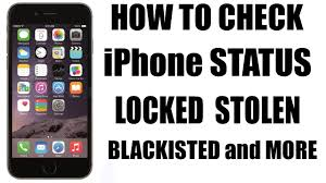how check your iphone is blacklisted Unlock iCloud activation