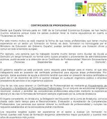 Material Didáctico Para Cursos De Formación Continua CERTIFICADOS DE
