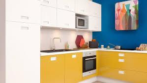 cuisine jaune et blanche les avantages d une cuisine blanche