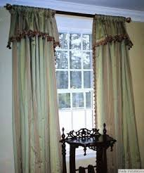 drapes with attached valance foter