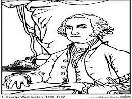 George Washington Coloring Pages Printable Kids In Carver Page