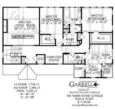 Timber Stone Cottage House Plan 07437 2nd Floor