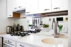 Small Apartment Ideas White Kitchen And Dining Area