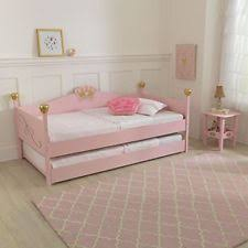 Diva Upholstered Twin Bed Pink by Girls Bedroom Furniture Ebay
