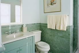 bathroom green and black bathroom with green tile