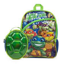 Ninja Turtle Twin Bedding Set by Teenage Mutant Ninja Turtles Backpack U0026 Shell Lunch Box Set
