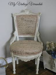 French Script Chair Cushions by 11 Best Chalk Painted Furniture Images On Pinterest Chalk Paint