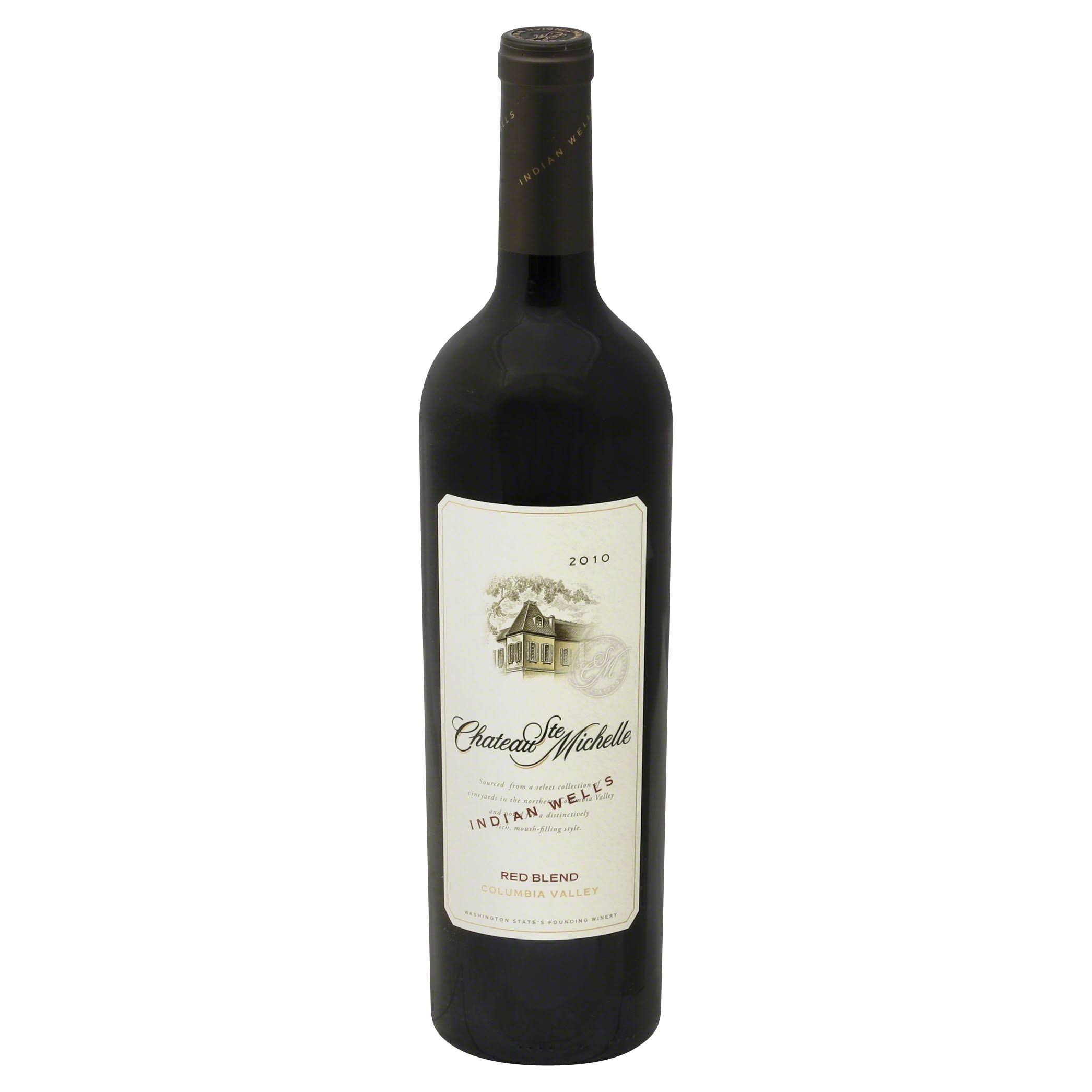 Chateau Ste Michelle Red Blend, Columbia Valley, 2010 - 750 ml