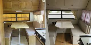 Camper Trailer Remodel Before And After Photos Of Makeover
