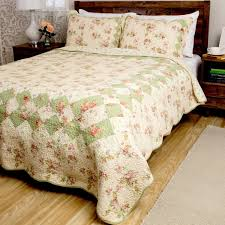 Greenland Home Bedding by Greenland Home Fashions Bliss 3 Piece Quilt Set Free Shipping
