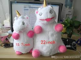 Despicable Me Fluffy Unicorn Plush Pillow Toy Movies TV Cartoon Video