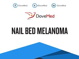 nail bed melanoma