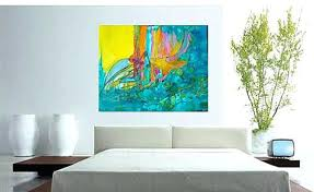 Abstract Painting For Dining Room Large Living Art Master Bedroom With Regard To