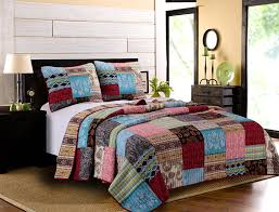Greenland Home Bedding by Amazon Com Greenland Home 3 Piece Bohemian Dream Quilt Set King