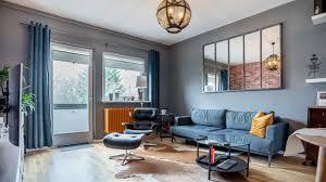 wohnzimmer im industrial look industrial living room