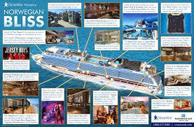 Ncl Norwegian Pearl Deck Plan by Norwegian Bliss Cruise Ship 2018 And 2019 Norwegian Bliss