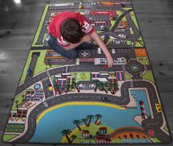 tapis de jeux voitures sol pvc circuit voiture galerie avec carrelage design tapis de jeu