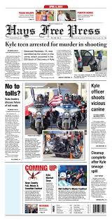 notice siege auto tex april 6 2016 hays free press by hays free press dispatch issuu