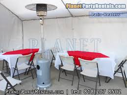 Patio Heater Rentals Outdoor Propane Heaters for Rent