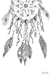 Free Coloring Page Cathym20 Dreamcatcher Exclusive By Cathy