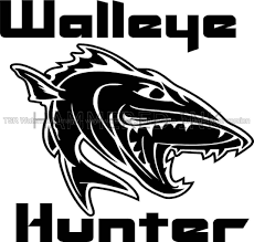 Cool Walleye Hunter Fish Die Cut Vinyl Car Decal Window Sticker ... 2 Fish Skeleton Decals Car Sticker Fishing Boat Canoe Kayak Rodfather Funny Vancar Jdm Vw Dub Vag Euro Vinyl Decal Tancredy Go Stickers And Bumper Bass Truck Wall Window 1pc High Quality 15179cm Id Rather Be Fly Angler Vinyl Decal Fly Fishing Sticker Ice Hell When Freezes Over Ill Visit To Buy 14684cm Is Good Bruce Pinterest 2018 Styling Daiwa Brand And For Hooked On Outdoor Life Camping