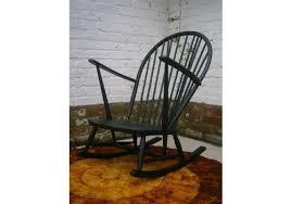 Vintage Banana Rocking Chair by Refurbished Vintage Retro Mid Century Ercol Rocking Chair